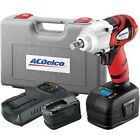Ac Delco 18v Cordless Lithium-ion 12 In. Impact Wrench With Digital Clutch