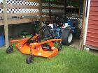 Ford 1215 4x4 16hp diesel tractor only 986 hours New Holland, Landpride mower