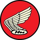 Honda HM Classic Wing Vinyl Sticker Decal Vintage Retro