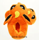 New Pokemon Flareon Slippers Adults Indoor Plush Winter Shoes Cosplay Gift
