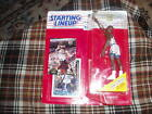 1993 SHAQUILLE O'NEAL Starting Lineup/Kenner TOY FIGURE, Stand & 2 Cards