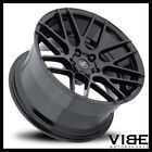 19 MRR GROUND FORCE GF7 BLACK CONCAVE WHEELS RIMS FITS INFINITI M35 M45