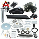 Black 2 Stroke Cycle Motor Kit Motorized Bike Petrol Gas Bicycle Engine 50cc