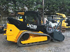 2013 JCB 300T Eco Crawler Track Skid Steer with Forestry Cutter