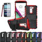 Rugged Hybrid Heavy Duty Protective Hard Case Phone Cover For LG Treasure 4G LTE