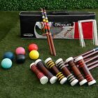 Croquet Set for Adults Kids Games Sports Outdoors Lawn Yard Party Carry Bag 6 Pl