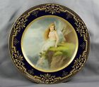 Royal Vienna Cabinet Plate Nude Fairy Nymph Angel Hand Painted Signed