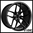 19 STANCE SF03 GLOSS BLACK CONCAVE WHEELS RIMS FITS BMW 528 530 535 545 550