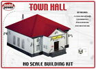 Model Power 400 HO Scale Town Hall Building Kit
