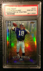 Peyton Manning 1998 Finest REFRACTOR W Coating Rookie Card #121 GRADED PSA 10