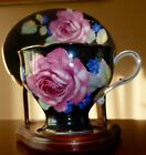VINTAGE-PARAGON-CHINA-BLACK-TEA-CUP-SAUCER-with-PRETTY-FLOWERS