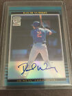 2002 Bowman Chrome DAVID WRIGHT RC Rookie Refractor Auto METS!!