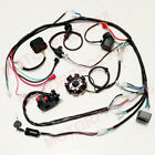 BUGGY WIRING HARNESS LOOM GY6 ENGINE 150CC QUAD ATV ELECTRIC START STATOR 8 COIL