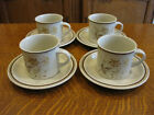 ROYAL DOULTON CHINA SANDSPRITE LS1013 PATTERN  4 CUPS & 4 SAUCERS