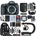 Canon EOS 7D Mark II DSLR Camera with 18 55mm IS STM Lens + 64GB Pro Video Kit