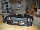 Vintage Sony CFS-W360 Stereo Dual Cassette Boombox WORKING Detachable Speakers