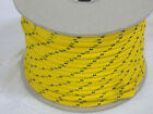 Double Braid Polyester Halyard control sheet line 5 16x200 feet gold winch rope