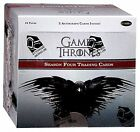 Game of Thrones Season 4 Factory Sealed Box of 24 Trading Card Packs