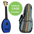 FLEA Ukulele BLUE concert + Eddy Finn Hippie Mellow Weave Bag