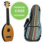 FLEA Ukulele NATURAL concert + Eddy Finn Hippie Mellow Weave Bag