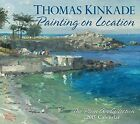 USED LN Thomas Kinkade Painting on Location 2016 Deluxe Wall Calendar The Ple