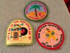Vintage Lot of 3 Girl Scout Patches 1990s Unused 6