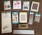 Sizzix Cuttlebug Quickutz Die Lot and Embossing Folders