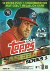 2016 Topps Series 1 Baseball Trading Cards New 101ct. Retail RELIC Blaster Box