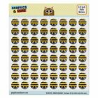Bumble Bee Party Girl Birthday Puffy Bubble Dome Scrapbooking Crafting Stickers
