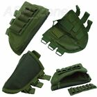 Stock Ammo Pouch with Cheek Leather Pad Oive Drab