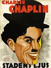Charlie Chaplin City Lights Movie Vintage Wall Print POSTER