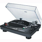 Audio-Technica ATLP120USB Stereo Turntable w/ USB LP to DIG Recording Piano BLK