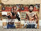 FLOYD MAYWEATHER MANNY PACQUIAO DUAL SIGNED AUTO SPORTS ILLUSTRATED MAY 2015 PSA