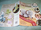 LEISURE ARTS CUTE LITTLE ANIMALS 8 PATTERNS CAT PUPPY  PIRATE ELEPHANT ++