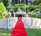 HOLLYWOOD RED AISLE  EVENT RUNNER 100 FT X 38 PUNCTURE RESISTANT WEDDINGS