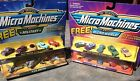 Micro Machines Die Cast Lot Of 2 10 Piece Sets #19 Chevy #23 1950's Military NEW