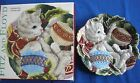 Fitz And Floyd Kristmas Kitty Canape Plate