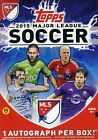 2015 Topps MLS Soccer EXCLUSIVE Factory Sealed Blaster Box+AUTOGRAPH ! HOT !