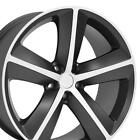 20 Matte Black Challenger SRT Wheel 20x9 Rim Fits Dodge Charger Magnum RT CP