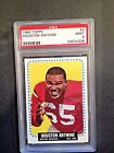 1964 Topps #2 Houston Antwine (R) PSA 9 MINT Rookie, Low #, POP 5, None Higher