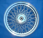REAR WHEEL RIM 80 TWISTED SPOKES 16
