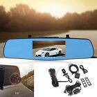 1080P Android Car DVR Rear View Mirror GPS WiFi Bluetooth Monitor Reverse Camera
