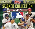 2014 Topps MLB Sticker Collection 14