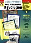USED GD History Pockets The American Revolution by Evan Moor
