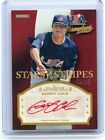 2013 USA BASEBALL CHAMPIONS #GER GERRIT COLE AUTOGRAPH RED INK RC #19 25 PIRATES