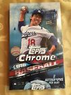 2016 TOPPS CHROME BASEBALL HOBBY BOX (24 PACKS)