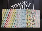 Stampin Up Designer Series Paper Card Front Layers A2 DSP Fronts 2013 2015