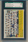 1956 Topps Chicago Cubs Team Card (Name on Left) (#11) SGC88 (8) SGC