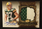 Jordy Nelson 2008 Exquisite Collection Rookie Signature PATCH AUTO 199 PACKERS