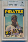1986 Topps Traded Tiffany Barry Bonds (Rookie Card) (#11T) BGS9 BGS